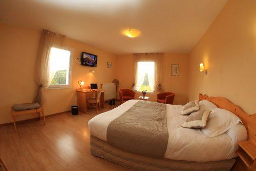 Coffret cadeau hôtel Ardèche Coffret chambre spacieuse